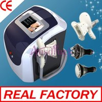 Wholesale Body Rf Handle - EU tax free Big handle Freeze Fat cool sculpting cold therapy Cryo Cooling 40K ultrasonic slimming Cavitation Body Sculpture Multipolar RF