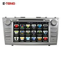Wholesale Camry Dash - In stock car audio player android car dvd for Toyota Camry 2006-2011with A9 Cortex Dual Core mirror link.OBDII,WIFI,3G,Bluetooth,GPS 2