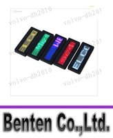 Wholesale Digital Led Scrolling - LLFA7503 LED Name Badge Programmable Scrolling Name Message Badge Tag Digital Display English