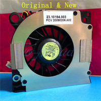 Wholesale Inspiron 1546 - Wholesale-Original New CPU Cooling Fan For DELL Inspiron 1525 1526 1527 1545 1546 D620 D630 PP41L DFS531205M30T DIY Replace Free Shipping