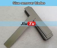 Wholesale Oca Cleaner - 50pcs lot oca glue remover blade oca optical clear adhesive cleaning tool blade knife for iphone samsung refurbishment LCD repair