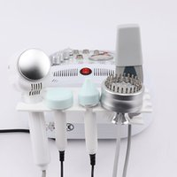 Vendita calda 5 in 1 Scrubber Microdermabrasion Multi Color Photon Ultrasuoni Beautiful Skin Instrument Acne Removal Pulizia della pelle