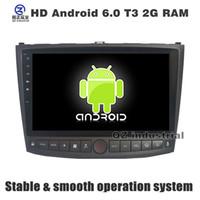 Wholesale Car Dvd Player For Lexus - QZ industrial HD 10.1 inch Android 6.0 Car DVD player for Lexus IS250 2006-2011 with 3G 4G WIFI BT GPS navigation radio stereo SWC free map