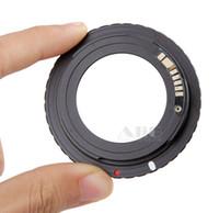 eos mark ii al por mayor-El envío libre 1 unids / lote AF negro confirma el adaptador de montaje para la lente M42 a Canon EOS EF Cámara EOS 5D / EOS 5D Mark II / EOS 7D