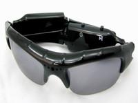 Wholesale eyewear mini camera online - High quality Mini Sunglasses camera Audio Video DV USB Drive Sport Camcorder digital video recorder fashion eyewear camera