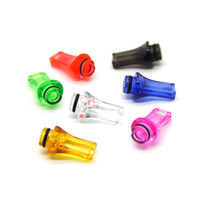 Wholesale Ce4 Flat Drip - 100pcs ecig Hot Selling ecigs 510 T8 Plastic Drip Tips e cigarette aromizer Flat Drip Tip ego CE4 tips mouthpieces for 510 Atomzier