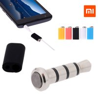 Wholesale Doll Mikey - Xiaomi Mikey Mi Key Smart Key Quick Button Dustproof Plug 3.5mm Jack with Cable-free Earphone Clip for Xiaomi Redmi Phone