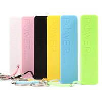 Wholesale Cell Phone Charger Battery Pack - Power Bank 2600 mAh Colorful 2600mAh Portable Emergency External Cell Phone Perfume Power Bank Battery Charger Pack for iPhone Samsung HTC