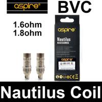 auténtico aspire nautilus bobina 1.6ohm 1.8ohm al por mayor-Aspire Nautilus Bobinas de reemplazo para atomizador Auténtico original aspire nautilus bobina BVC 1.6ohm 1.8ohm atomizador de reemplazo nautilus