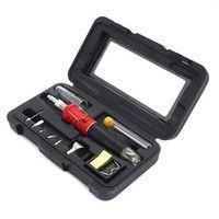 Wholesale Butane Kit - Top 10 in 1 Professional Butane Gas Soldering Iron Kit Welding Torch HS-1115K