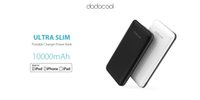 dodocool MFi Certified Ultra Slim 10000 mAh Caricabatteria portatile a 2 porte Power Bank Backup Batteria esterna ai polimeri di litio con staccabile