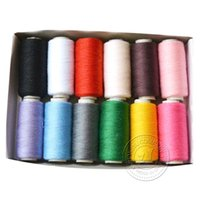 Wholesale Polyester Sewing Thread Sewing Machine Quilting Home Upholstery Art New Fashion Hot sell Creative Design Shipping From China