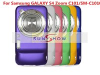 Wholesale Covers Galaxy Zoom - 2015 PC Hard Back Cover Case For Samsung Galaxy S4 Zoom C101 SM-C1010 Phone Ultra-thin Matte Frosted Case For Samsung C101 SM-C1010