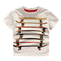 Wholesale T Shirt Boys Brand - Cool China Brand children clothing wholesale Skateboard boys t-shirt cotton short sleeve shirts Summer originality shirts for boy