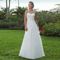 Wholesale Custom Dress Making China - Wholesale 2016 Custom Made A-line Sweetheart Court Train Appliques Organza Elegant Bride Wedding Dresses Made in China