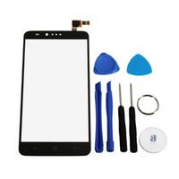 iphone cam değiştirme aracı toptan satış-Toptan-ZTE Zmax Pro Z981 için Yedek Cam Dokunmatik Ekran Digitizer Cep Telefonu Aksesuarları Paketler Onarım Seti Araçları 6 Inç