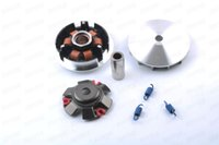 Wholesale Motorcycle Racing Cdi - GY6 152QMI 157QMJ 125cc 150cc Racing Variator Set For Chinese Scooter Motorcycle Moped Go Kart 3 kinds of spring optional