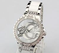 Wholesale Glue Watch - Fashion watch business watch watchband glue hollow watch exquisite watches