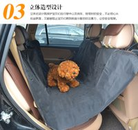 Wholesale Big Dog Seat - 2015 Pet car rear pad waterproof car rear seat pet car mats car mats big dogs