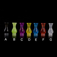 Wholesale ce4 clear tips for sale - Group buy Rich Style E Cig Plastic Drip Tip Clear Style Vase Drip Tips EGO CE4 Atomizer Mouthpiece for CE5 DCT Evod Vivi Nova Protank Vaporizer