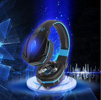 Barato Auscultadores Jogo De Jogos-KOTION EACH G4000 USB Stereo Gaming Headphone Gaming Headset 7.1 Surround Sound G400 Game Fone de ouvido com microfone para PC