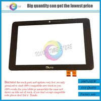 Venda por atacado - Novo 10.1 polegadas Kurio 10S Kids Tablet Touch Screen 20130427A Painel de digitalizador Glass Sensor Replacement FreeShipping