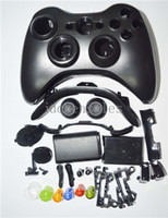 Wholesale Wholesale Xbox Controller Shells - Custom Replacement Wireless Game Controller Housing Shell Case Cover Kit For Xbox 360 - Includes Button Set, Torx & Phillips Head Screwdrive