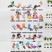 5sets anime Dragon ball Z figura DBZ The Historical Characters Trunks figlio Goku Gohan super saiyan Juguetes Brinquedos Dolls