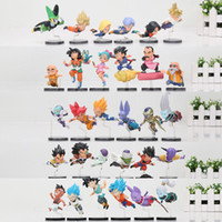 5sets anime Dragon ball Z figure DBZ Les personnages historiques Trunks fils Goku Gohan super saiyan Juguetes Brinquedos Dolls