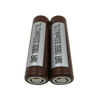 Wholesale 100 Top High Quality for HG2 Battery mah A Max Discharge High Drain Batteries R VTC5 VTC4 HE2 HE4 Fedex