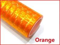 12 chats plastiques achat en gros de-Orange 30cm x200cm 3D Cat Eye HeadLight Feu arrière Teinte Vinyle Film, Autocollant De Voiture HeadLight Taillight - 12 couleurs Livraison Gratuite