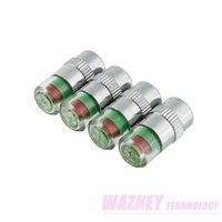 wazde4   Wholesale-2880pcs(720set) lot *2.4Bar 36PSI Car Styling Tyre Tire Pressure Monitor Indicator Valve Stem Caps Sensor 3 Color Eye Air Alert