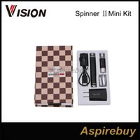 Liquidation Vente !!! Vision Spinner 2 II Mini Starter Kit 850 mAh Tension Variable VV Mode 3.3 V - 4.8 V Batterie Avec BDC Réservoir 100% Authentique