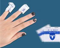 Wholesale uv gel nail care - Easy nail cleaner 200Pcs lot gel polish Lacquer gel nail Wraps UV Gel Remover Nails Care tools nail remover remover wraps free shipping DHL