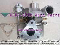 ingrosso turbocompressore volkswagen-GT1241Z 708001 756068 036145701 756068-5001S 756068-0001 Turbo Turbocompressore per VW Volkswagen Parati 1.0L EA111 moto 0.4L-1.2L