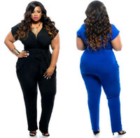 Wholesale Casual Jumpsuits For Women Plus - new rompers jumpsuits for women jumpsuit romper plus size womens fashion casual sexy bodycon jumpsuit women clothes clothing 3xl