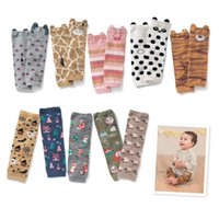 Wholesale Infant Leggings Toddler Tights - Cute Infant Children Cartton Socks Toddlers Baby Leg Warmer Tube Socks(Random Send)