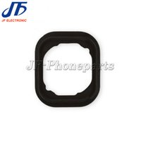 Wholesale Home Button Gasket - 10pcs lot Free Shipping Home Button Rubber Gasket for iPhone 6 4.7 and 6 Plus Repair Parts Replacement