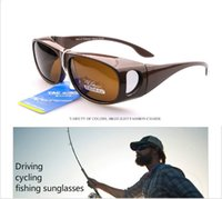Wholesale Cycling Glasses Myopia - Polarized Sunglasses for men women Cover Wrap Myopia Glasses with Side Lens,summer style Sports sun glasses Driving cycling Fishing Glasses