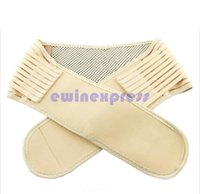 Wholesale Magnetic Heat Waist Belt Wholesaler - Magnetic Double Pull Self Heat Lower Back Brace Belt Lumbar Waist Support Pain Relief
