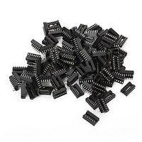 Wholesale Ic Socket Dip - 20 Pcs14 Pin DIP IC Sockets Adaptor Solder Type Socket Contact Termination Through Hole Integrated Circuits Components