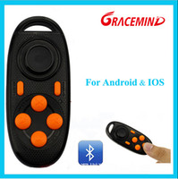 Wholesale joystick for android tablet for sale - Group buy Wireless Mini Bluetooth Gamepad Joystick Generation Controller for Android iOS Cell Phone Tablet PC Mini bluetooth remote shutter