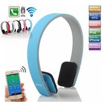 bluetooth kopfhörer stereo für laptop großhandel-AEC BQ618 Drahtlose Bluetooth Stirnband Kopfhörer Stereo Bass Headset Kopfhörer Mit Mikrofon für Samsung iPhone Laptop Smartphone