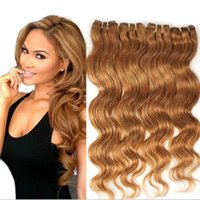 Wholesale 5a virgin hair pcs online - 10 inch g A Peruvian Hair brazilian hair indian hair Malaysian Virgin Hair Human Hair Weave Bundles