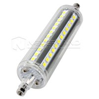 Wholesale Decorative Tube Bulb - Wholesale-R7s J78 J118 5W 10W 2835SMD LED Flood Light Bulb Replacement for Halogen Tube Specialty Decorative Lamp Bulbs