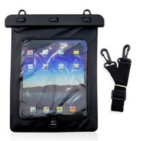Wholesale Dry Bag Ipad - Black 100% Waterproof Pouch Dry Bag Sleeve Case High Quality Protection Carrying Bag For 7''-10'' iPad Tablet Pad