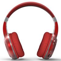 bluedio ht toptan satış-MOQ5 adet Bluedio HT Bluetooth kulaklıklar perakende kutusu ile 4 Renkler Kablosuz kulaklık bludio ht Mükemmel Bas DHL Ücretsiz