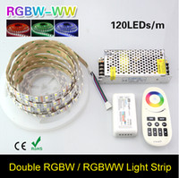 16.4FT Zweireihig 5050 RGB Led-streifen 5 Mt 600 Leds SMD Led Flex Lichtband Band DC12V 10A Power RGB Fernbedienung