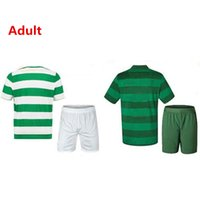 Wholesale Top Q - BN-Q-TOP Quality2017 2018 FC Home Soccer Jersey 17 18 Griffiths dembele Sinclair Rogic McGregor Roberts Forrest Jersey Adult Sets