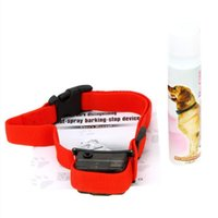 Wholesale Dog Bark Collar Spray - Pet dog barking collars are protected by environmentally friendly citronella spray without professional pet training tools
